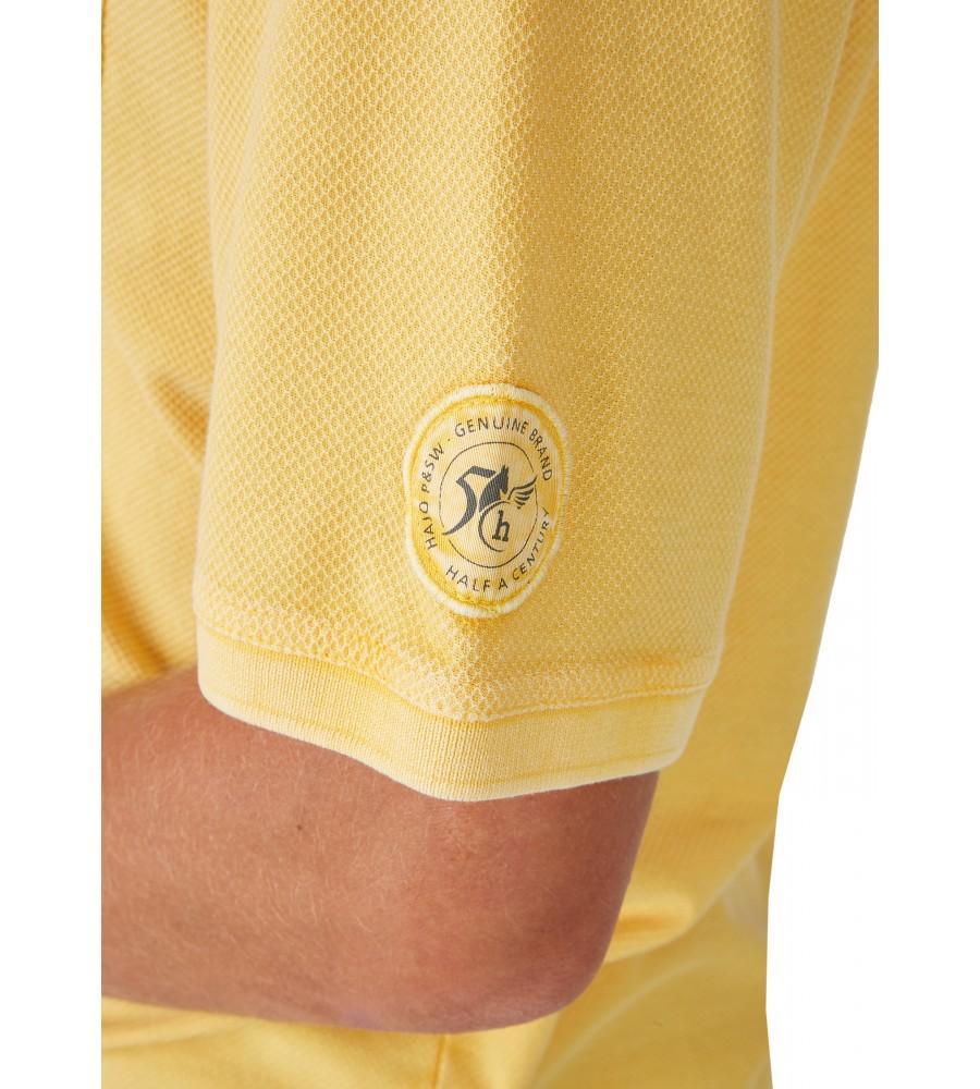 Washer-Poloshirt mit strukturierter Oberfläche 26690-352 detail2