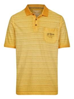 Washer-Poloshirt Oilwashed