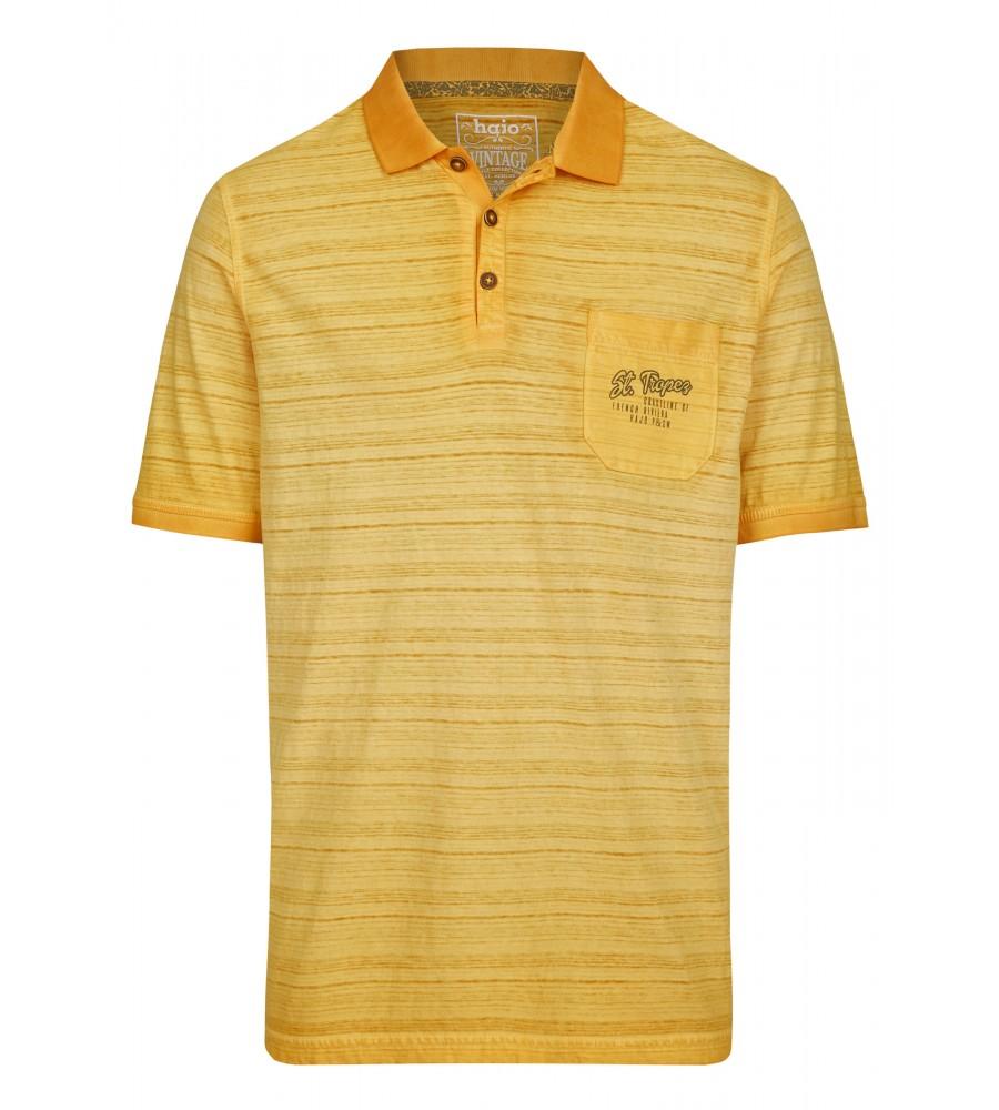 Washer-Poloshirt Oilwashed 26692-352 front