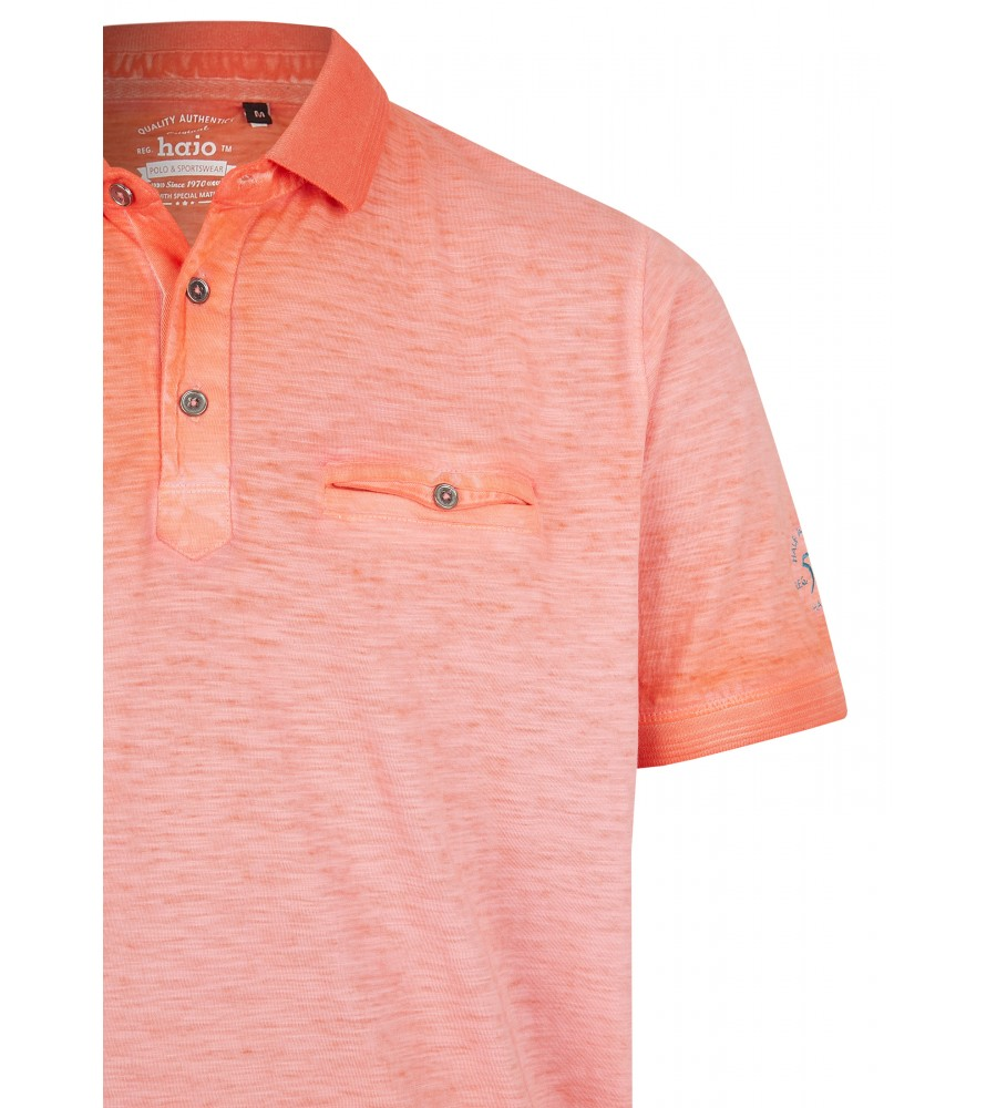 Washer-Poloshirt aus Flammengarn 26699-320 detail1