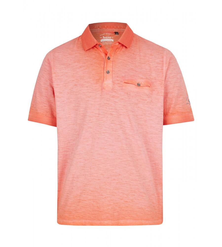 Washer-Poloshirt aus Flammengarn 26699-320 front