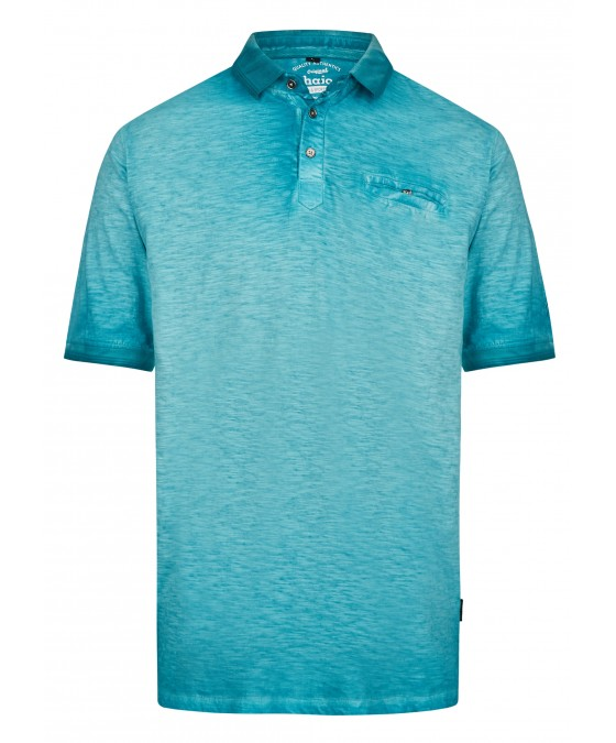Washer-Poloshirt aus Flammengarn 26699-606 front