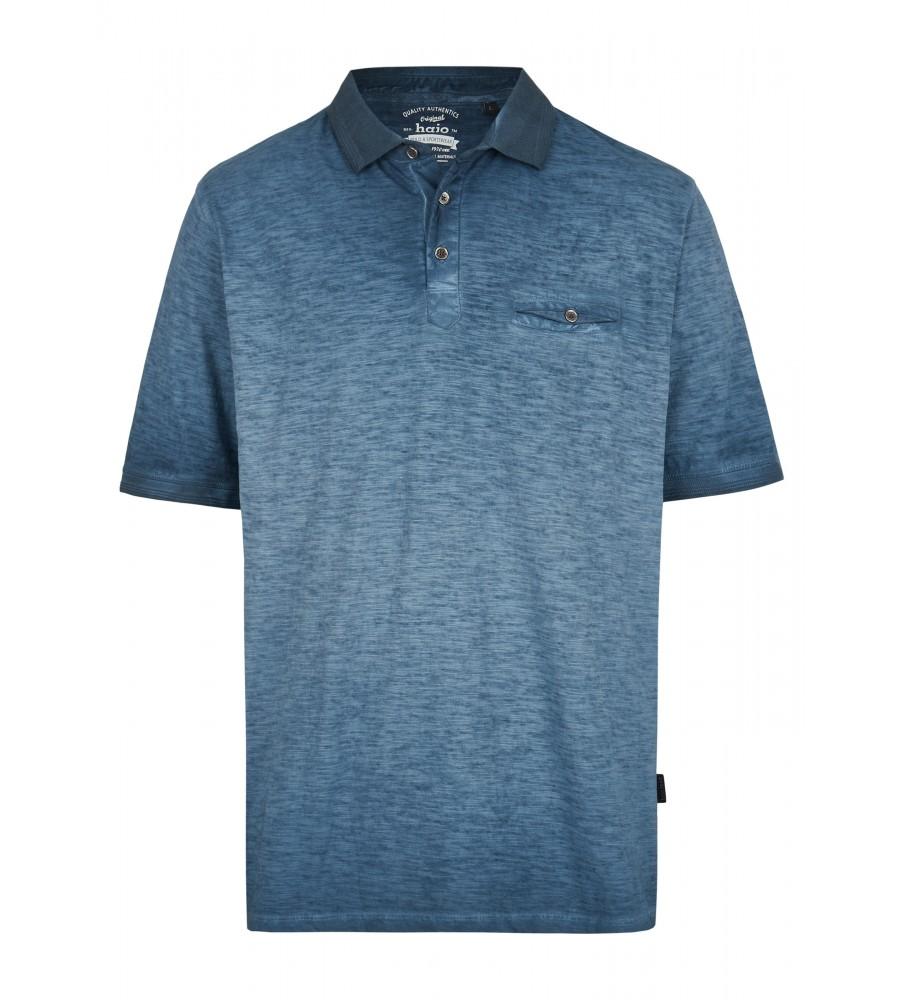 Washer-Poloshirt aus Flammengarn 26699-638 front