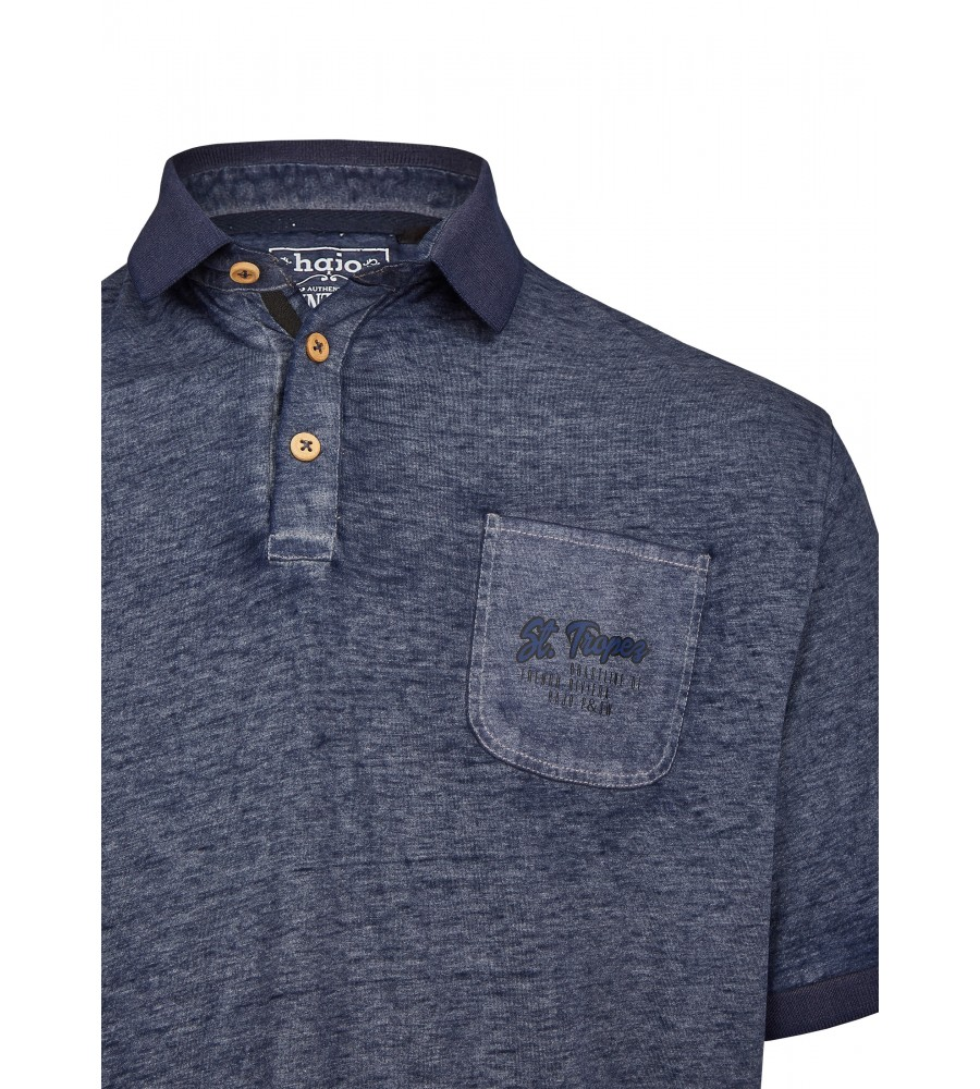 Poloshirt aus Slubgarn 26706-638 detail1