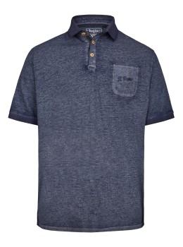 Poloshirt aus Slubgarn