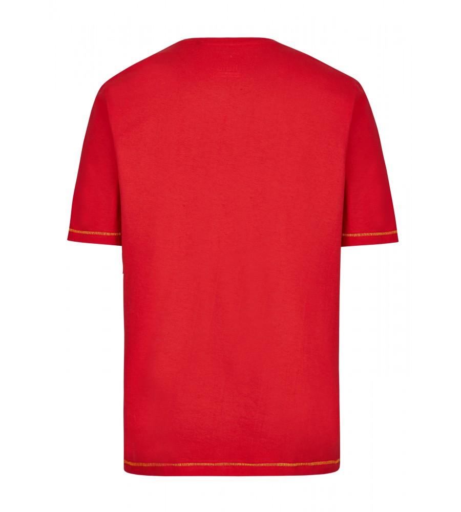 T-Shirt mit Frontdruck 26719-373 back