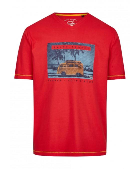 T-Shirt mit Frontdruck 26719-373 front