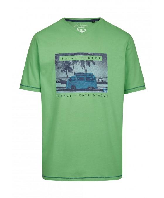 T-Shirt mit Frontdruck 26719-521 front