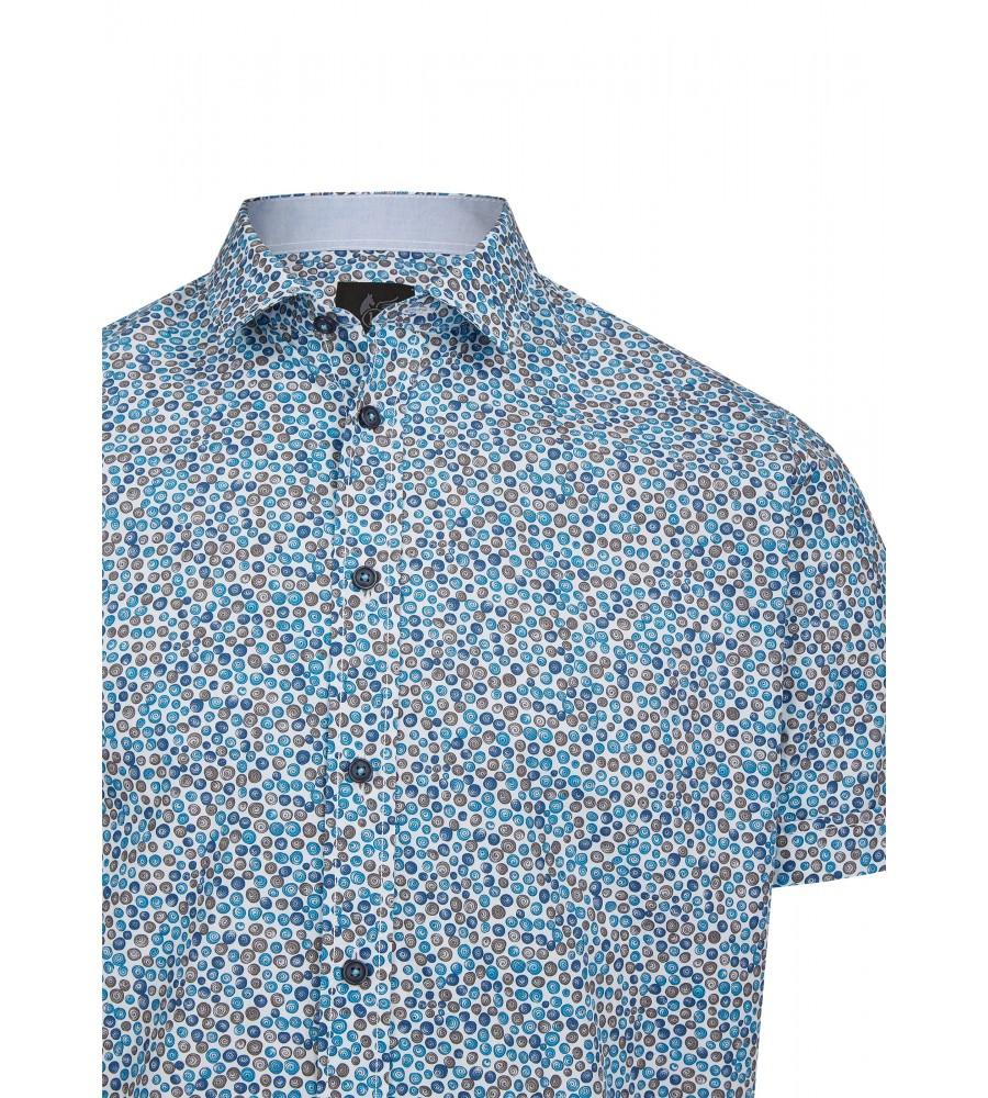 Herrenhemd mit grafischem Druck 26725-600 detail1