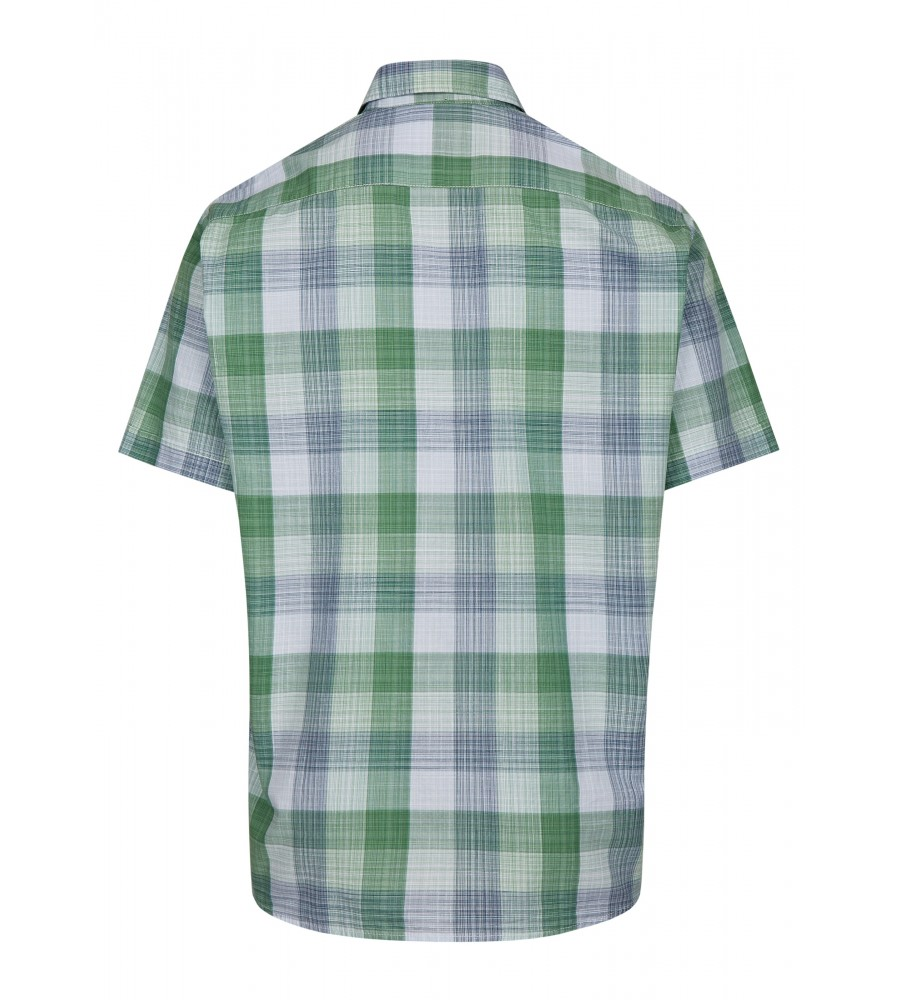 Herrenhemd mit Karodruck 26728-521 back