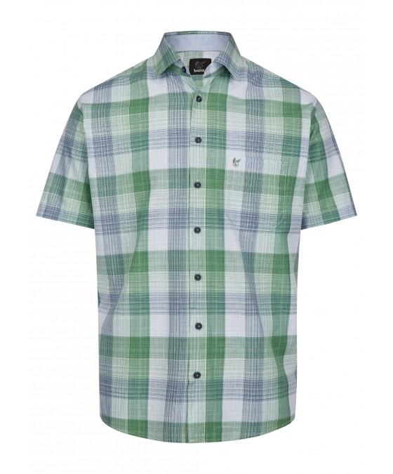 Herrenhemd mit Karodruck 26728-521 front