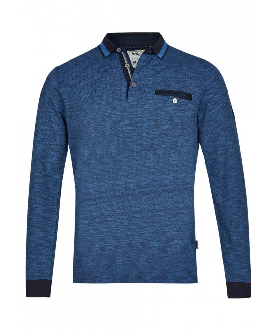 Jacquard-Poloshirt 26745-609 front