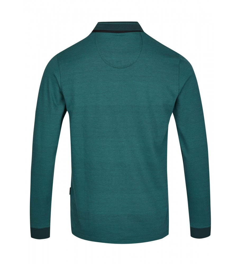 Jacquard-Poloshirt 26746-515 back