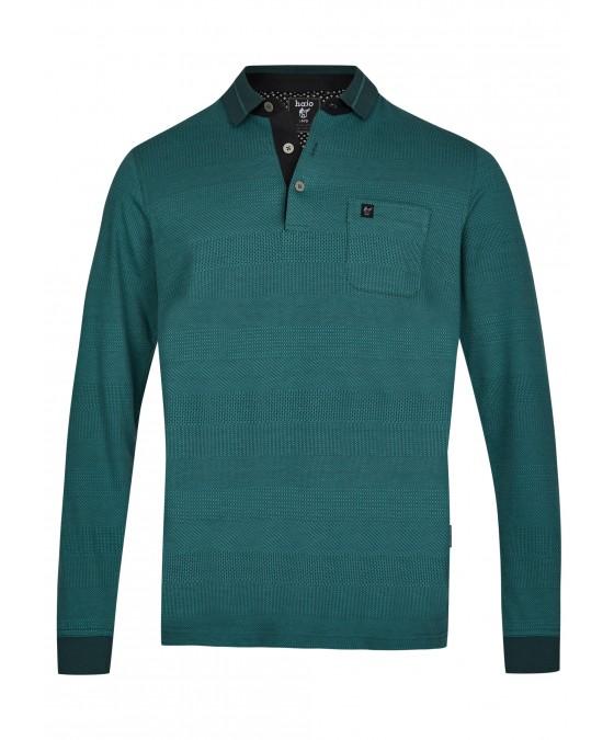 Jacquard-Poloshirt 26746-515 front