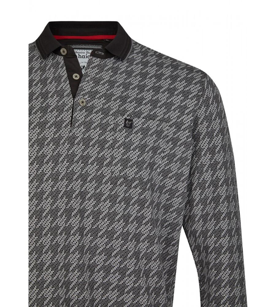 Jacquard-Poloshirt 26748-100 detail1