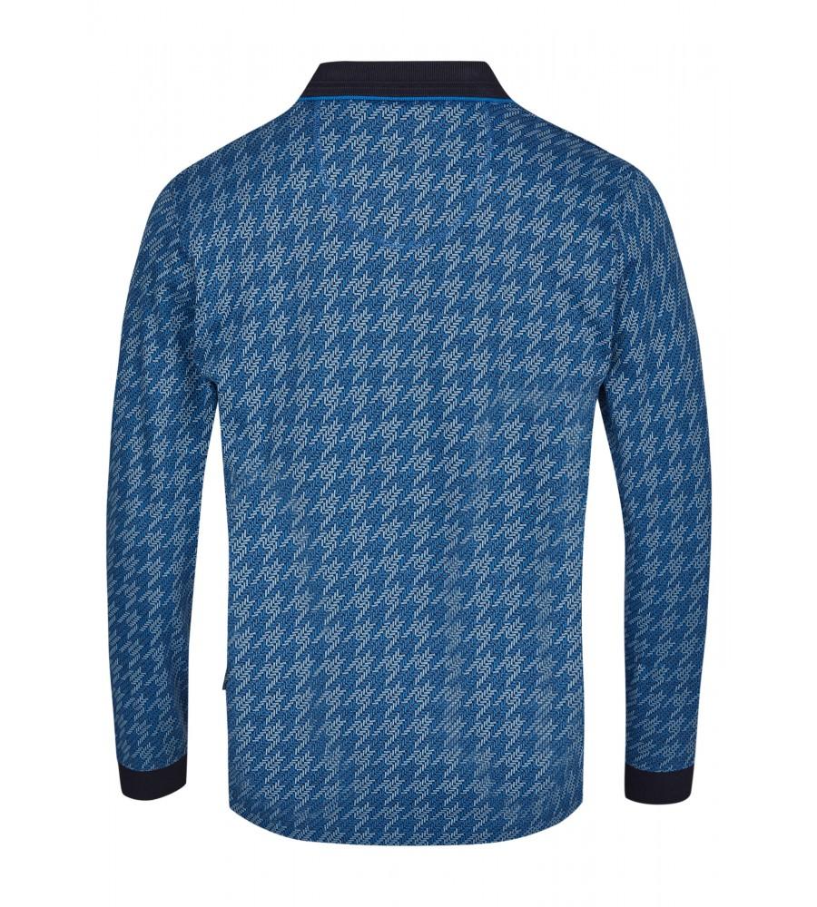 Jacquard-Poloshirt 26748-600 back
