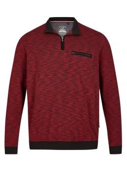 Sweatshirt in Flammengarn