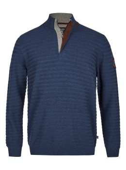 Ringel-Pullover strukturiert