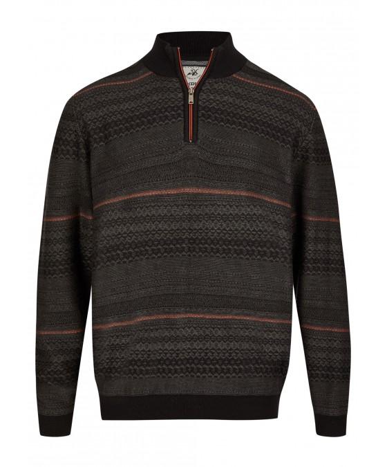Zip-Pullover 26787-102 front