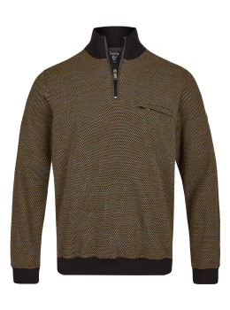 Punkte-Sweatshirt