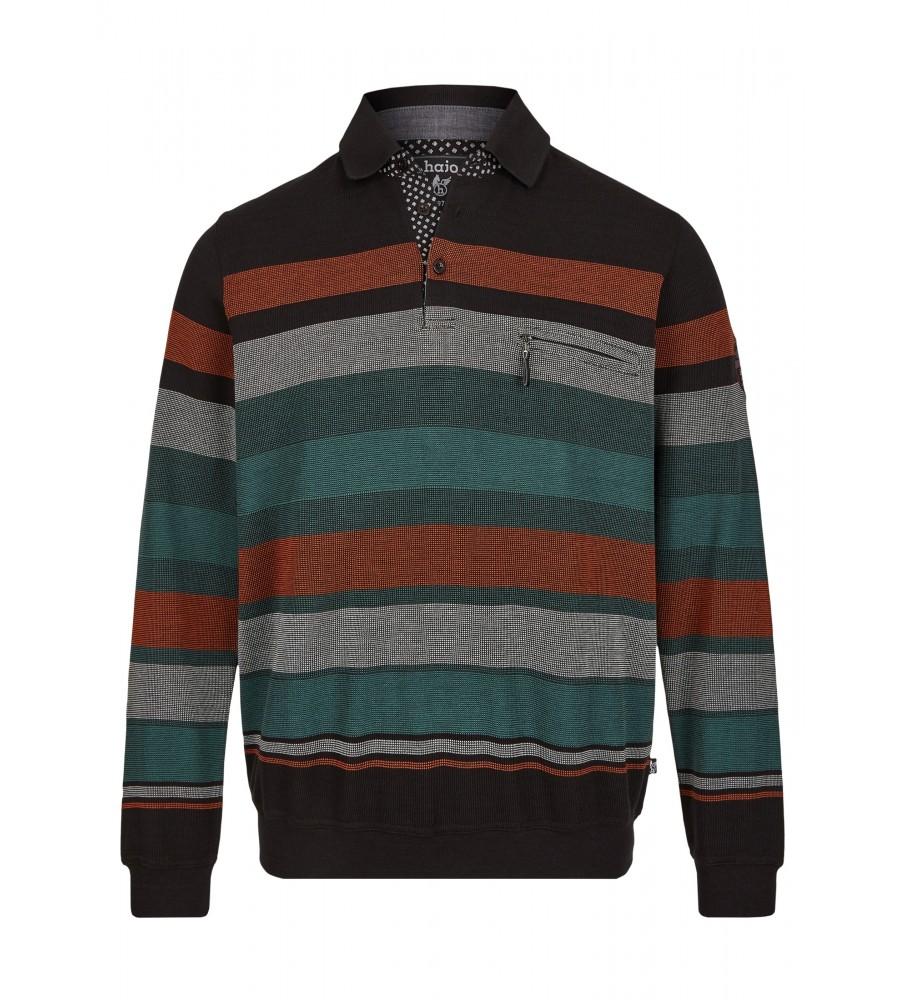 Klassisches Polosweatshirt 26799-100 front