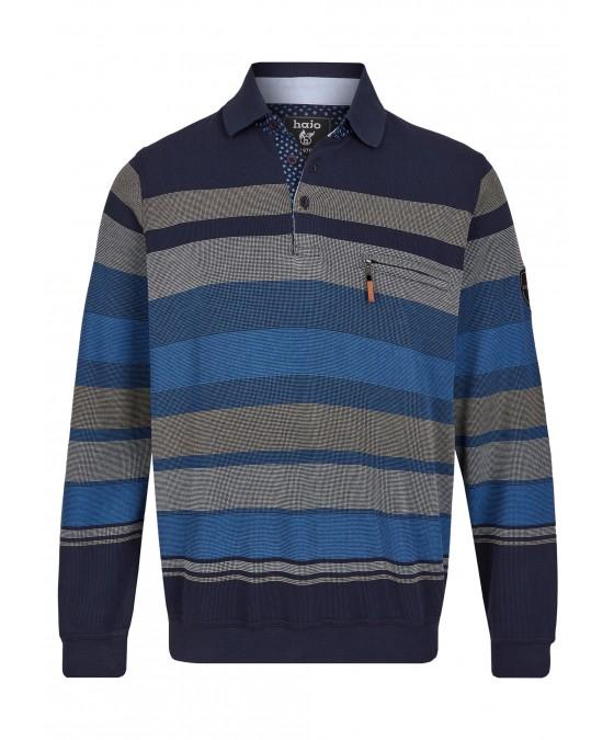 Klassisches Polosweatshirt 26799-609 front