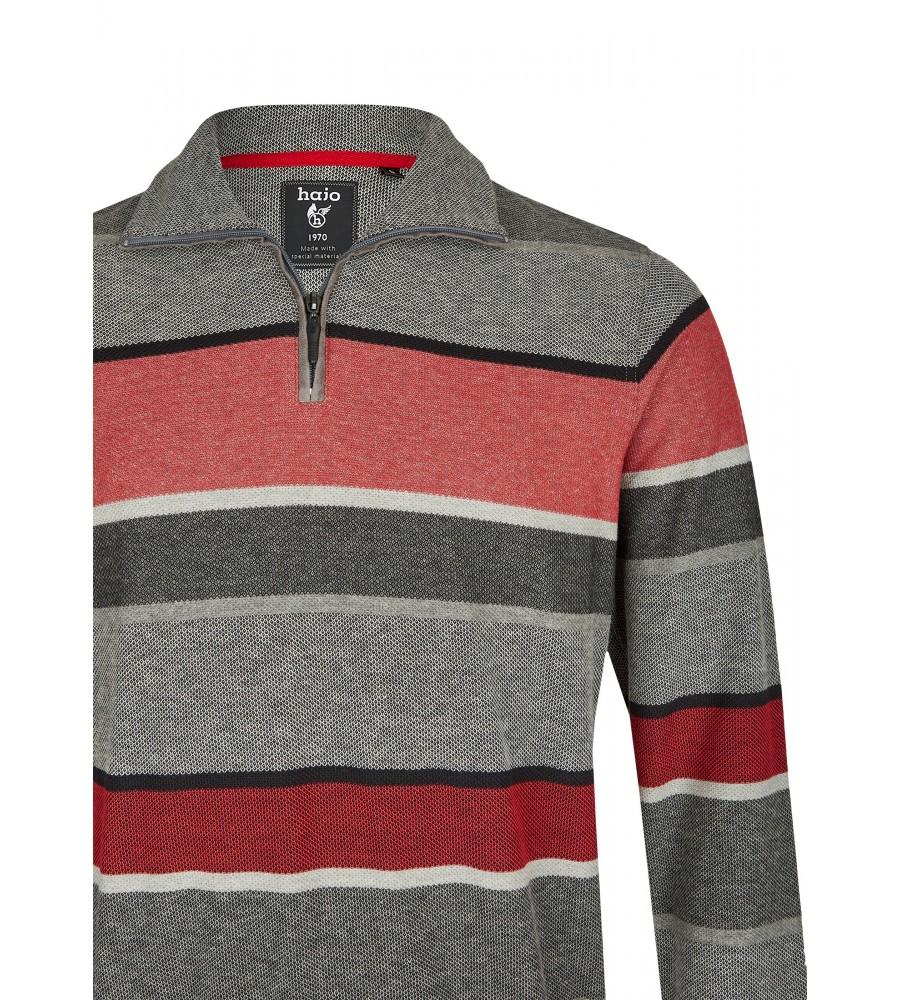 Blockstreifensweatshirt in Pikee 26803-300 detail1