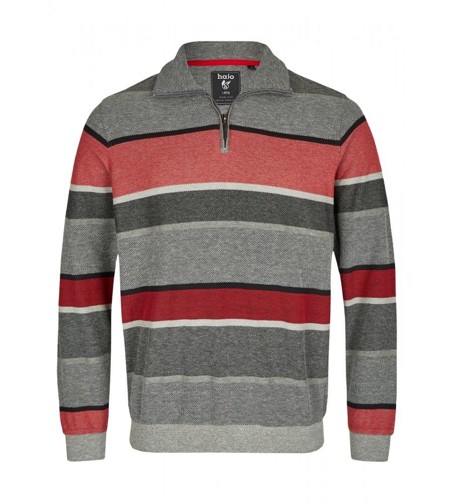 Blockstreifensweatshirt in Pikee 26803-300 front