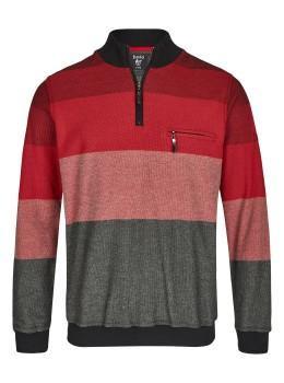 Geringeltes Pikeesweatshirt