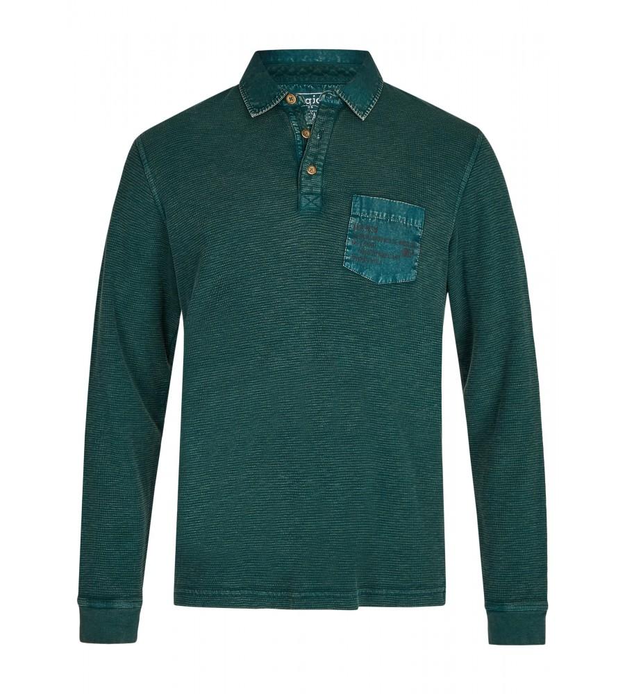 Gewaschenes Polosweatshirt 26822-515 front