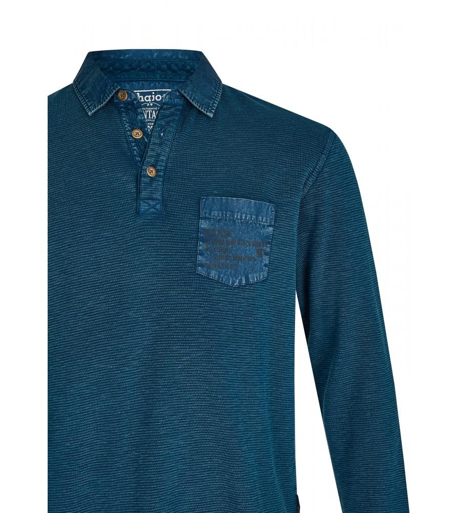 Gewaschenes Polosweatshirt 26822-602 detail1
