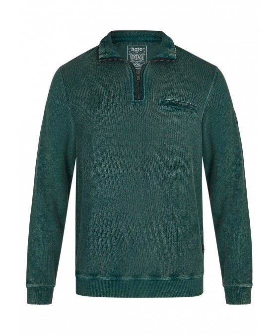 Gewaschenes Troyersweatshirt 26823-515 front