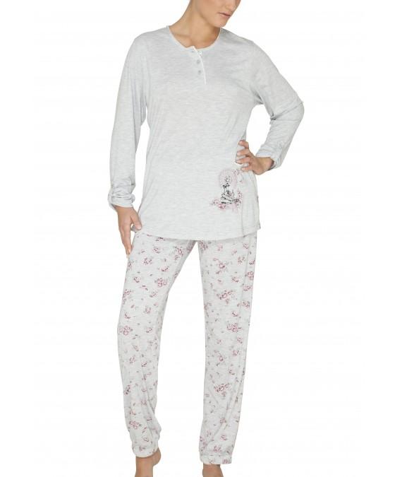 Schlafanzug Modal 44925SET-106 front