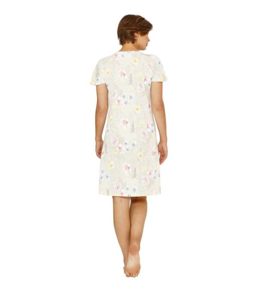 Sleepshirt mit floralem Druck 45079-401 back