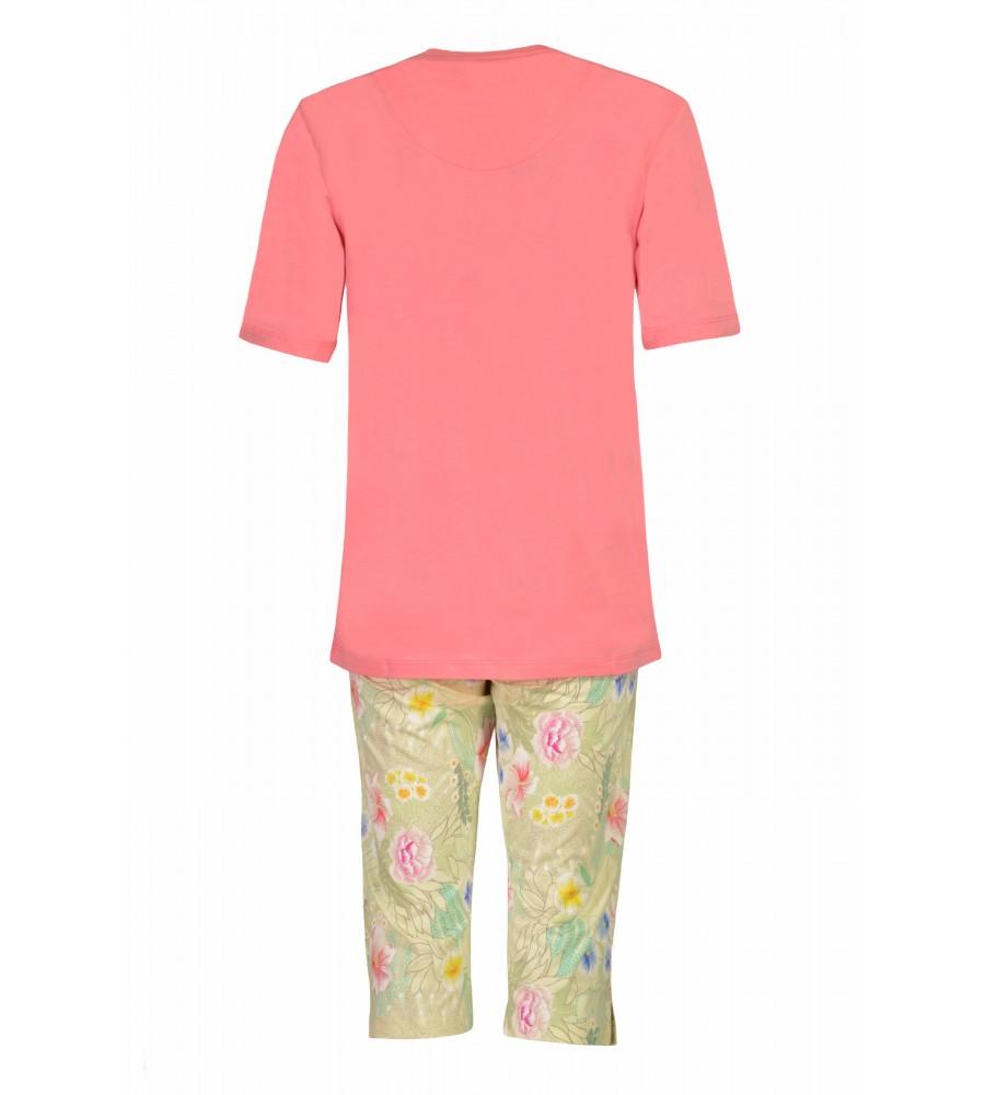 Capri-Schlafanzug mit floralem Druck 45080-312 back