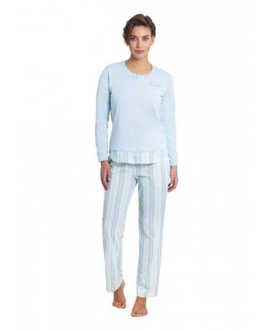 Schlafanzug Klima-Komfort 45103-614 front