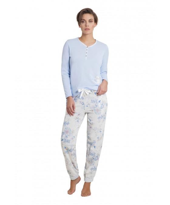 Schlafanzug Klima-Komfort 45114-621 front