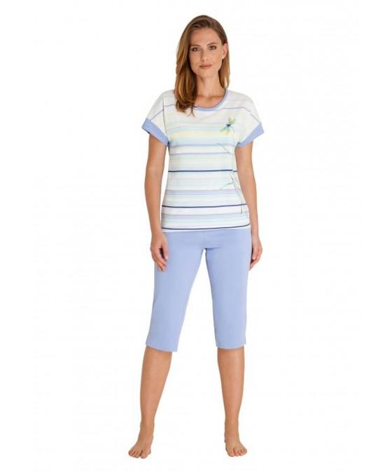 Capri Schlafanzug Klima-Komfort 45214-602 front