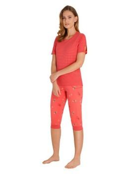 Capri Schlafanzug Premium Cotton