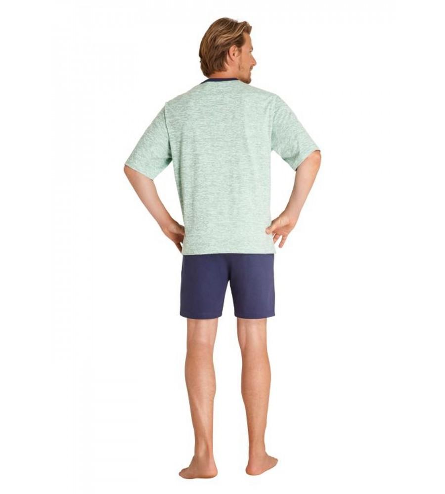 Schlafanzug aus reiner Baumwolle 53302-509 back