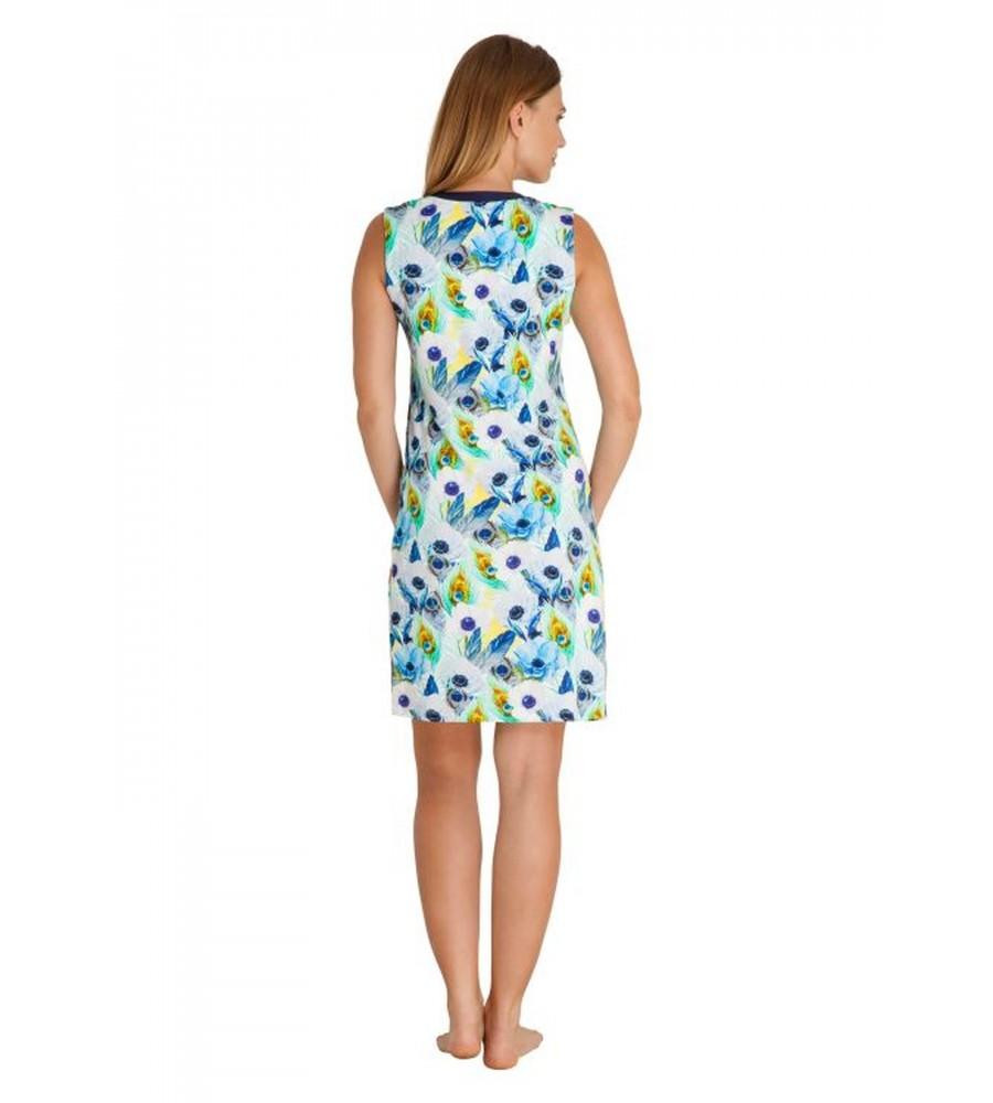 Strandkleid mit Blumenmuster 80915-699 back