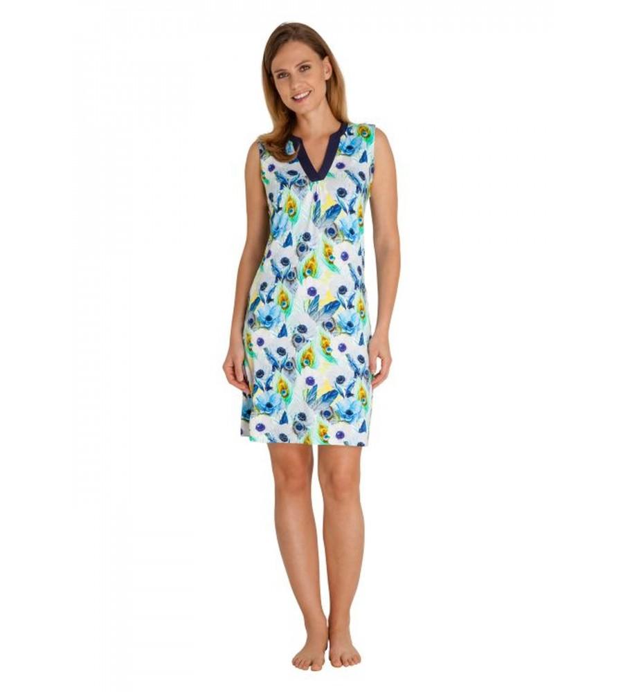 Strandkleid mit Blumenmuster 80915-699 front