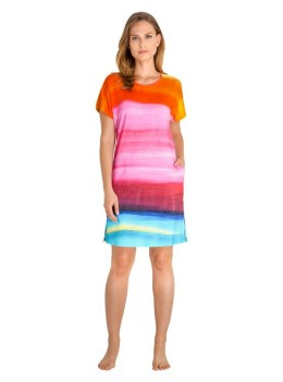 Sommerliches Strandkleid mit Farbverlauf