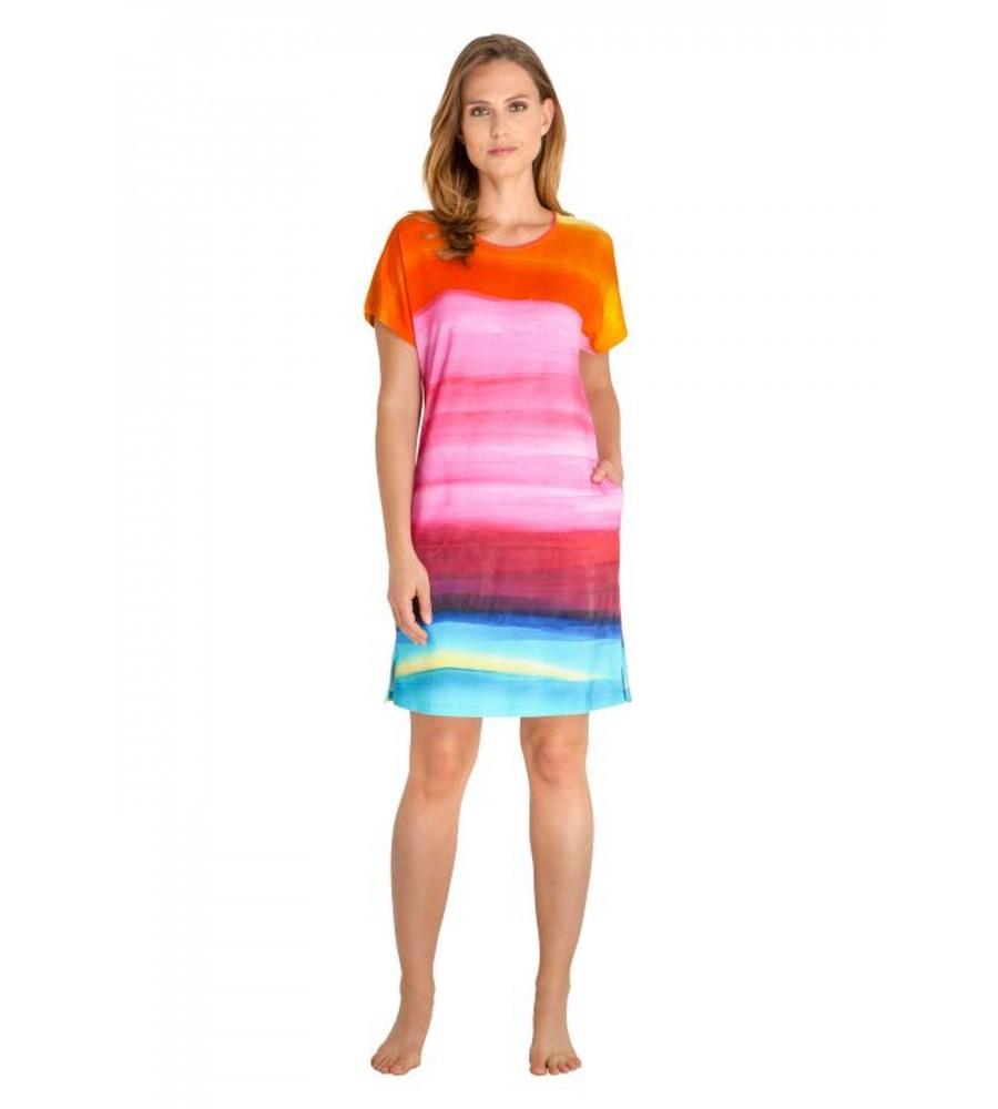 Sommerliches Strandkleid mit Farbverlauf 80918-707 front