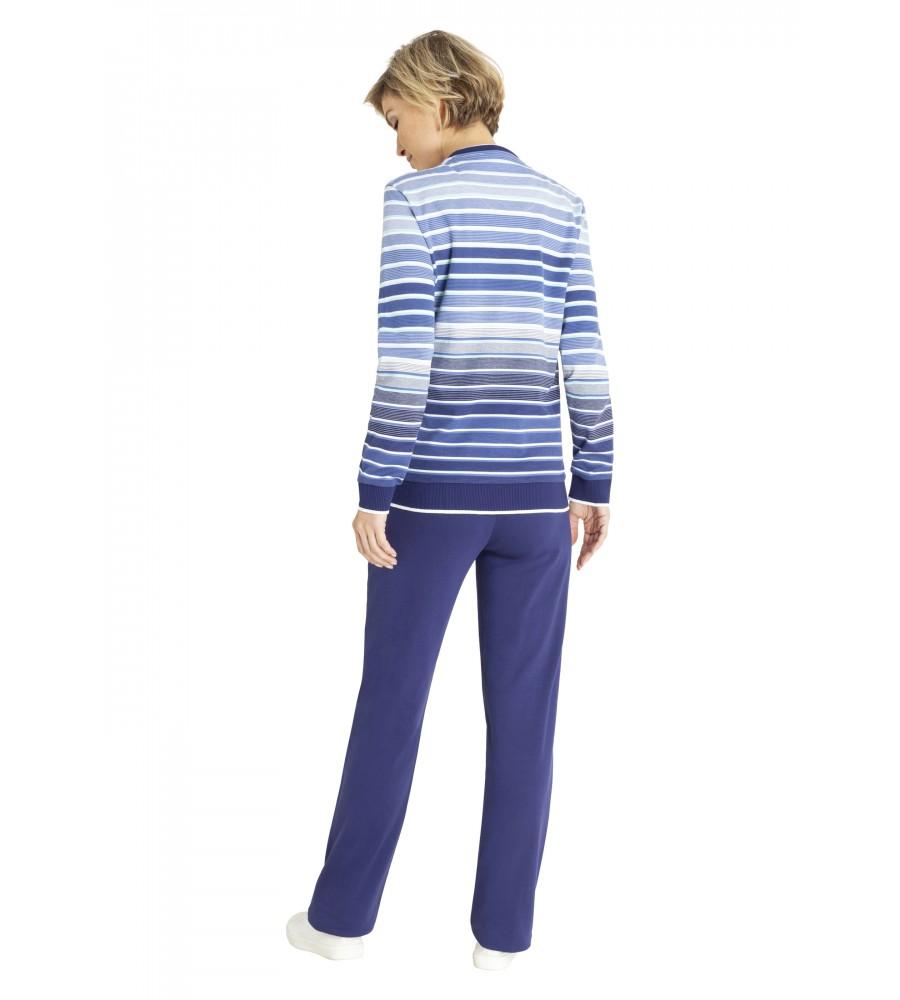 Homewear-Anzug Klima-Komfort 80987-613 back