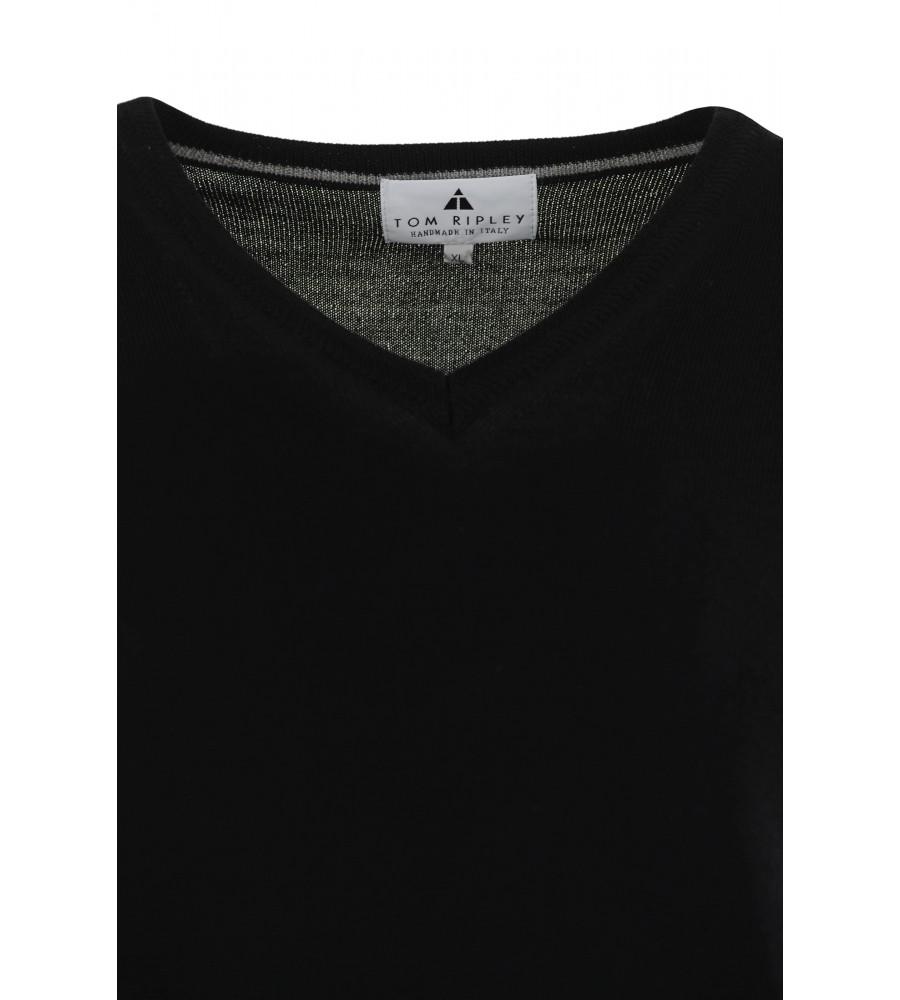 Pullover mit V-Ausschnitt T1005-100 detail1