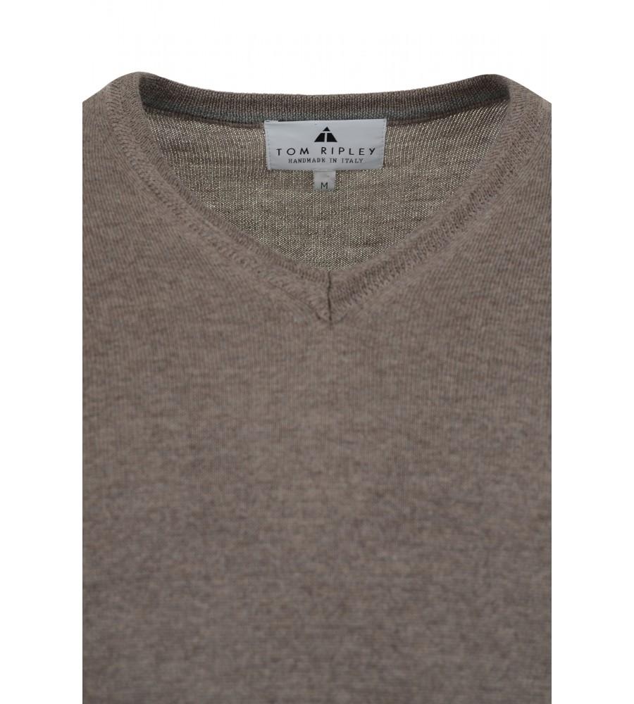 Pullover mit V-Ausschnitt T1005-227 detail1