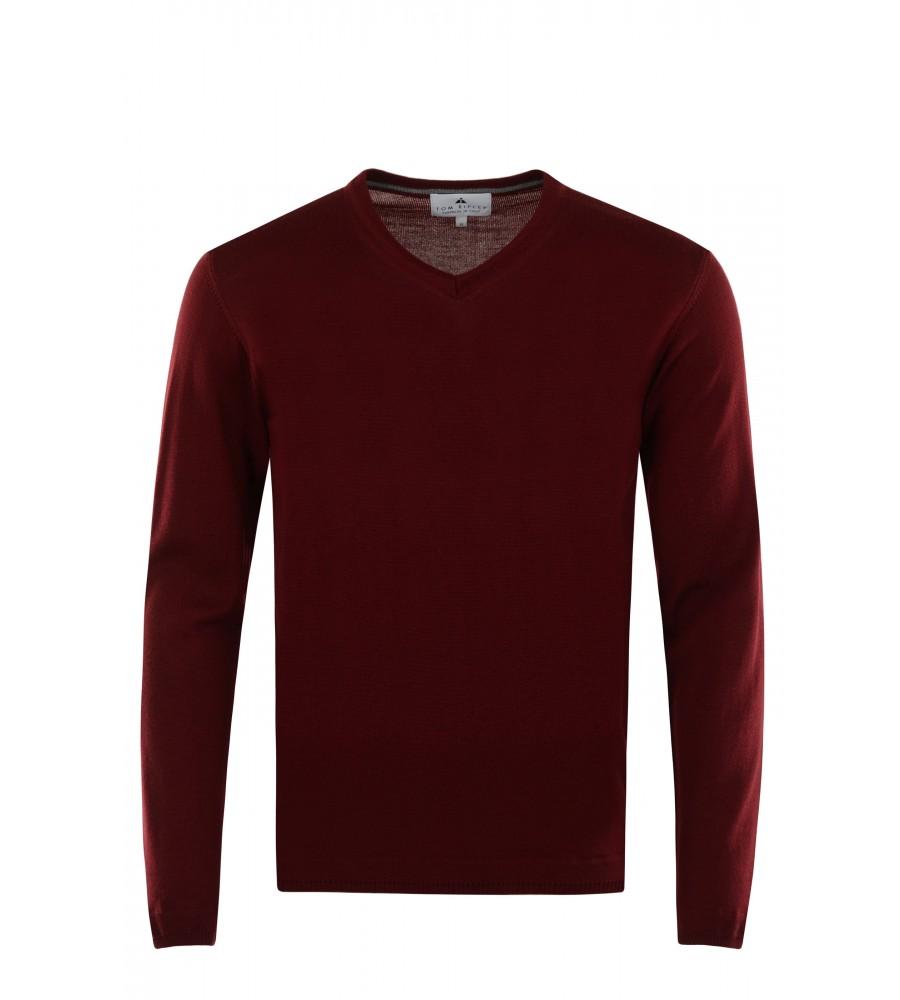 Pullover mit V-Ausschnitt T1005-359 front
