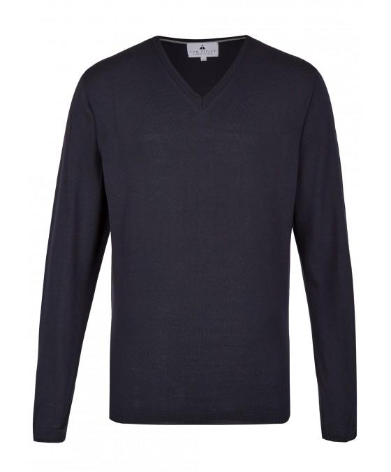 Pullover mit V-Ausschnitt T1005-672 front