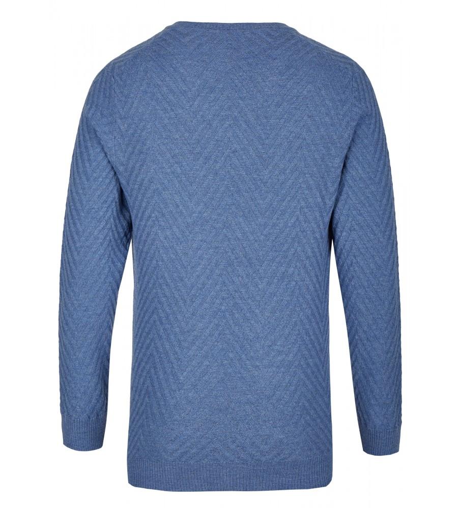 Pullover mit V-Ausschnitt T1008-654 back